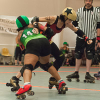 [CANCELED] Opening Reception - Atlanta Roller Girls Live