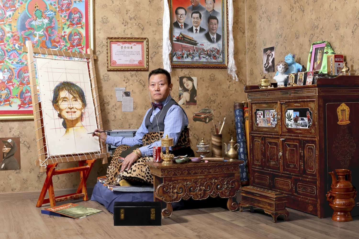 Gonkar Gyatso My Identity, 2015  Digital photograph Courtesy Studio Gonkar Gyatso and Pearl Lam Galleries